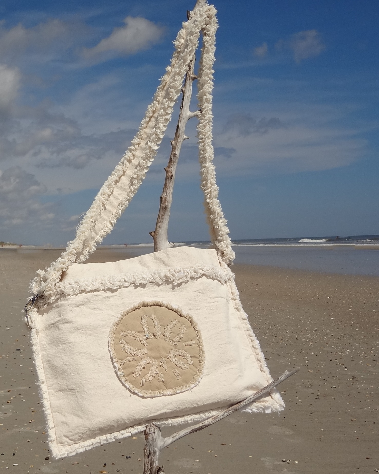 Sand Dollar Laptop Case (Khaki Sand Dollar)