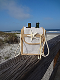 Wine Bottle Bag-Double W/Flap