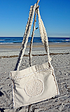 Sand Dollar Laptop Case (Ivory Sand Dollar)